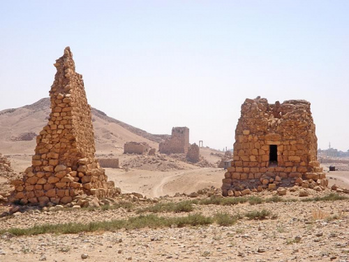 Syria - Palmyra - grobowce