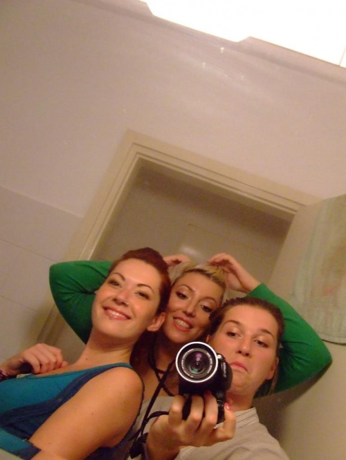 Olga, Maria i ja przed impreza
