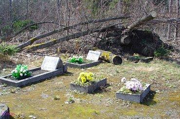 Łupki - nieczynny cmentarz ewangelicki