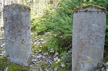 Ruda - nieczynny cmentarz ewangelicki