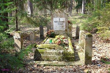 Końcewo - nieczynny cmentarz ewangelicki