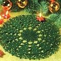 Świąteczna serwetka w choinki