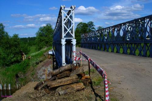 Most na kanale Jeglińskim #KanałJegliński #WrotaMazur
