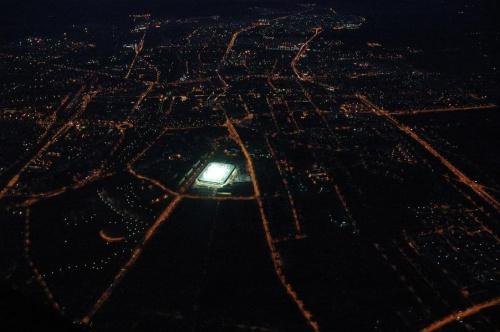 Stadion Korony (foto9) z lotu ptaka. #KoronaKielceKolporterStadion