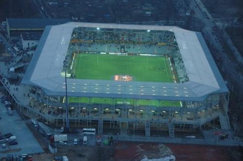 Stadion Korony (foto7) z lotu ptaka. #KoronaKielceKolporterStadion